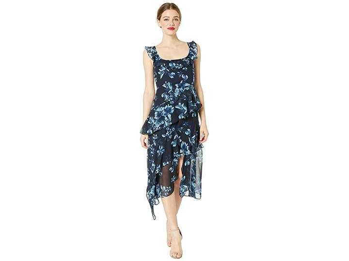 ea83f193d0 BCBGMAXAZRIA Blue Print Dresses - ShopStyle