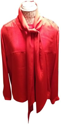 See by Chloe Red Silk Top for Women