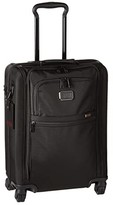 Tumi Alpha International Slim Super Leger Carry-On (Black) Wallet