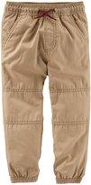 Osh Kosh Woven Pants (Toddler/Kid) - Navy - 3T