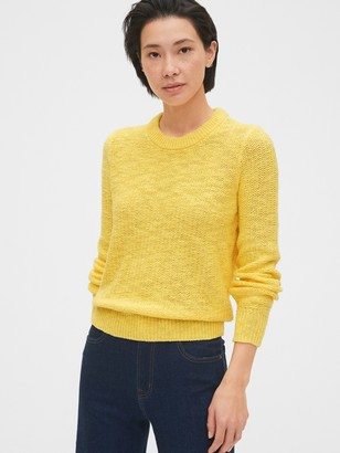 Gap Slub Crewneck Sweater