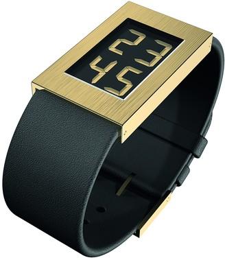 Rosendahl Womens Digital Quartz Watch with Leather Strap 43272