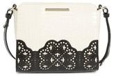 Brahmin Magnolia Carrie Leather Crossbody Bag - Black