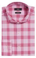 HUGO BOSS Jason Slim Fit, Cotton Easy Iron Dress Shirt 15 Pink