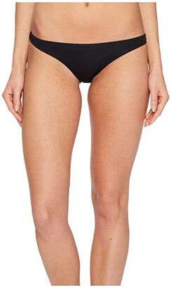 Vitamin A Swimwear Luciana Full Coverage Bottom (Eco Black) Women's Swimwear