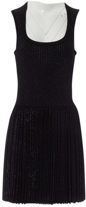 Alaia Black Viscose Dresses