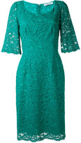Blumarine lace dress - women - Silk/Cotton/Polyamide/Viscose - 44