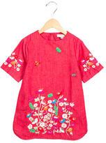 Stella McCartney Girls' Embroidered Shift Dress
