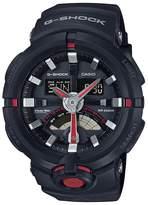 Casio Men's G Shock GA500-1A4 Rubber Quartz Sport Watch
