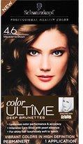 Schwarzkopf Ultime Hair Color Cream, 4.6 Macadamia Brown, 2.03 Ounce