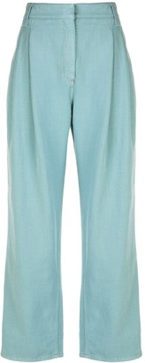 Brunello Cucinelli High-Waisted Pleated Trousers