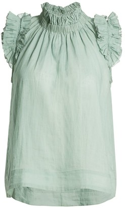 Sea Lucy Pleated Tank Top