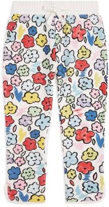 Stella McCartney Cotton Smiling-Flowers Sweatpants