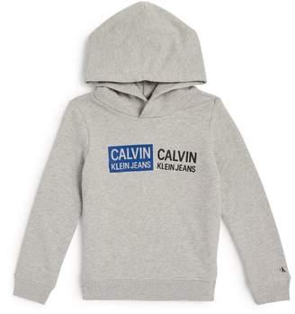 Calvin Klein Kids Double Logo Hoodie