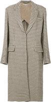 Stella McCartney Harper check coat
