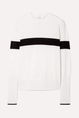 La Ligne Striped Cashmere Sweater - Cream