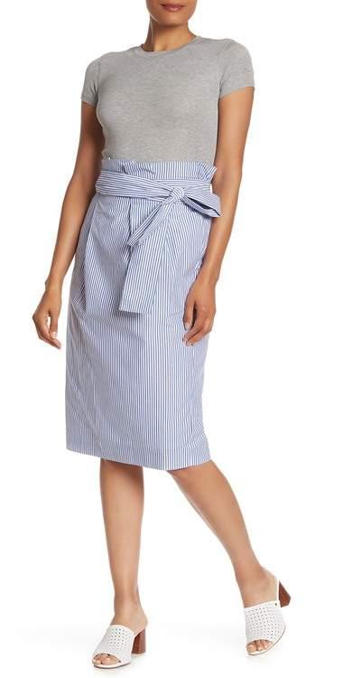 J.Crew J. Crew Stripe Paperbag Skirt