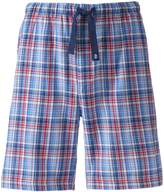 Izod Men's Plaid Woven Sleep Shorts