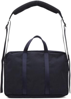 Comme des Garçons Homme Deux Navy Porter Classic Edition Nylon Briefcase