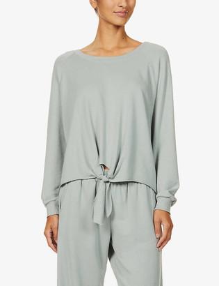 Eberjey Blair cotton-blend pyjama top