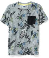Old Navy Printed Pocket Tee for Boys