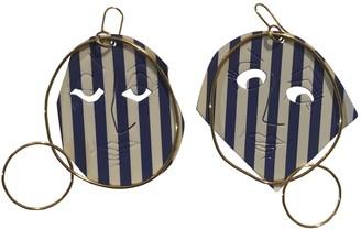 J.W.Anderson Blue Metal Earrings
