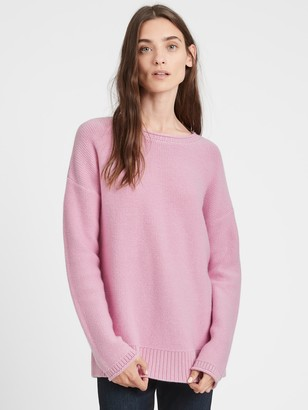 Banana Republic Cashmere Relaxed Tunic Sweater