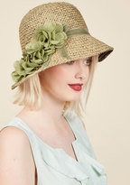 ModCloth Pure Edith Hat in Green