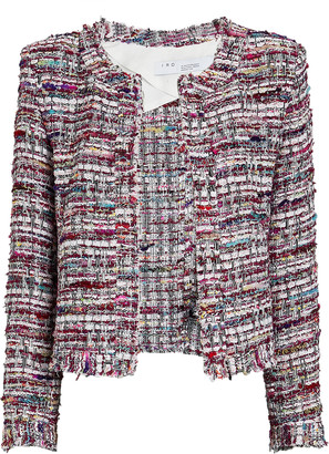 IRO Brelanie Boucle Tweed Jacket
