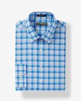 Express classic check dress shirt