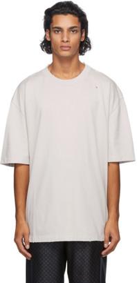Maison Margiela Beige Oversize Stone Wash T-Shirt