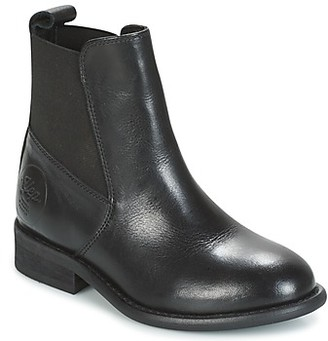 Young Elegant People CANNELLET girls's Mid Boots in Black