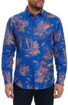 Robert Graham Men's Samo 20 Classic Fit Embroidered Sport Shirt