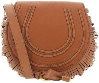 Chloé Marcie Fringed Crossbody Bag
