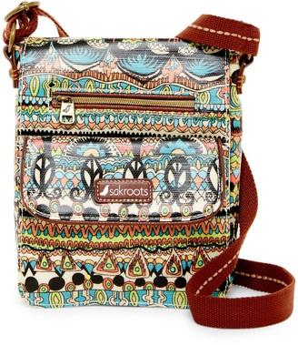 Sakroots Art Circle Small Flip Messenger Bag