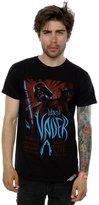 Star Wars Men's Darth Vader Rock Poster T-Shirt