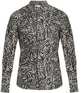 Marni Flow-print Cotton-poplin Shirt