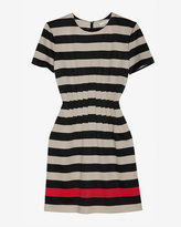 Diane Von Furstenberg Yazmine Jersey Stripe Dress