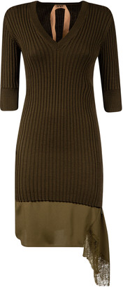 N°21 N.21 Ribbed Knit Dress