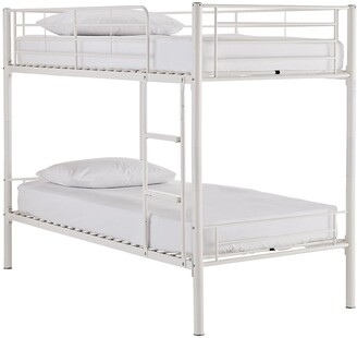Domino Metal Bunk Bed Frame with Mattress Options