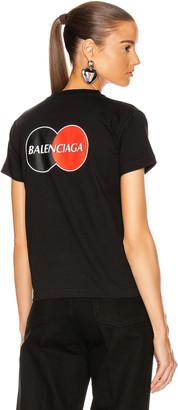Balenciaga Fitted Shirt in Black   FWRD