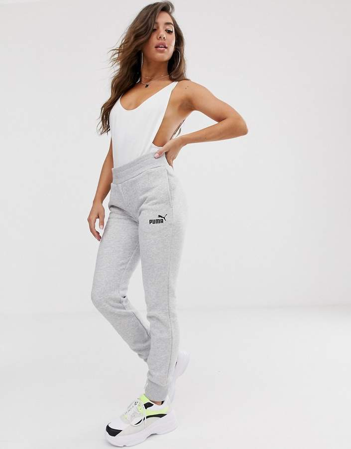 Puma Essentials grey sweat pants