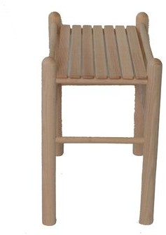 Solid Wood Side Table Beecham Swings