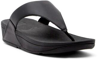 FitFlop Lulu Wedge Thong Sandal