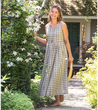 April Cornell Charming Check Dress