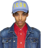 DSQUARED2 Blue Icon Cap