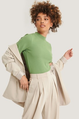 NA-KD Recycled Short Sleeve Ribbed Top