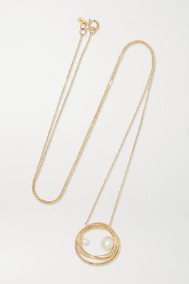 Sebastian Sarah & Bound 10-karat Gold Pearl Necklace