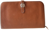 Hermes Leather Clutch Purse