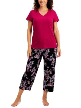 Charter Club V-neck Pajama Top, Created for Macy's